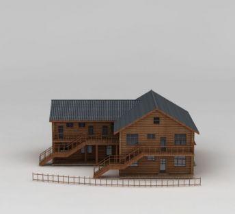 狩猎中心木屋
