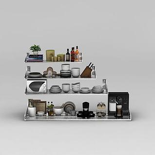 厨房架子3d模型