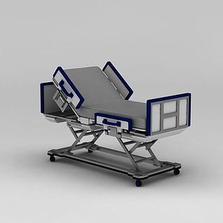 医用病床3d模型