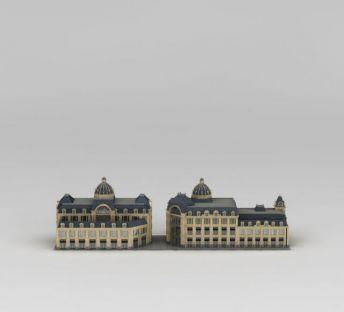 欧式商业楼