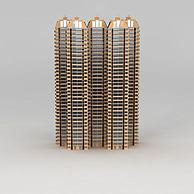 小区高层建筑3D模型3d模型
