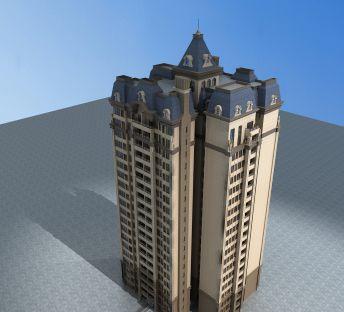 欧式高层住宅