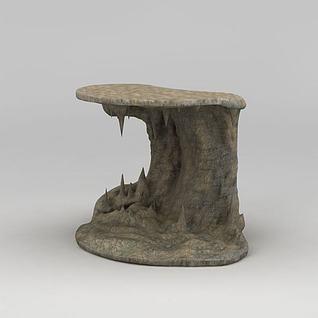 山石假山3d模型