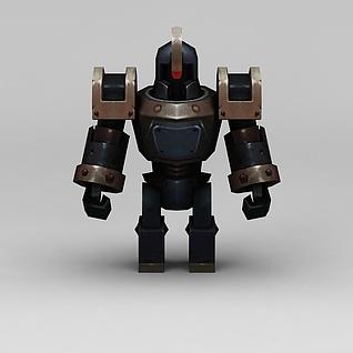 机器人战士3d模型