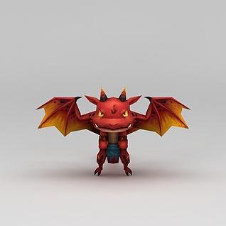 花千骨游戏魔兽3d模型
