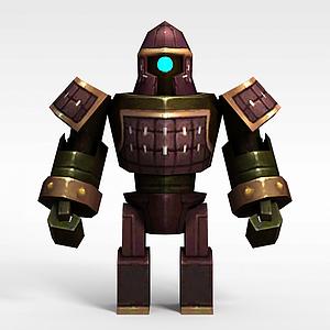3d机器士兵模型