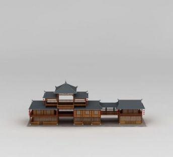中国古建筑商铺