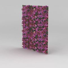 門廳植物花墻3D模型
