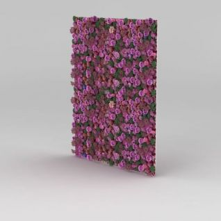 门厅植物花墙3d模型