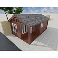 门卫室木屋3D模型3d模型