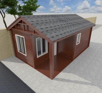 门卫室木屋