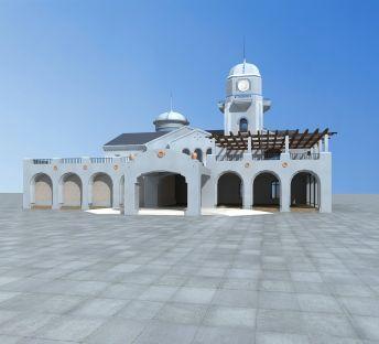蒙古风格别墅