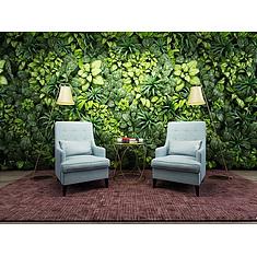 时尚沙发椅植物墙3D模型3d模型