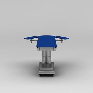 医用手术台3d模型