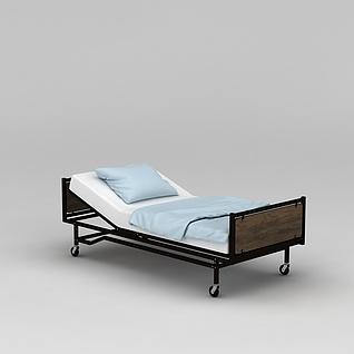 护理床3d模型