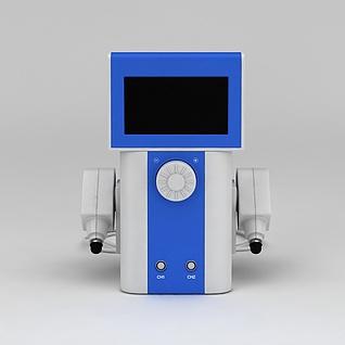 移动式直读光谱仪3d模型