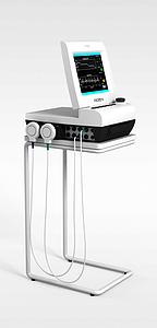 医用监护仪模型3d模型