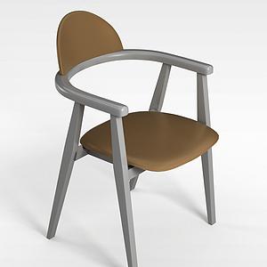 3d时尚北欧椅子模型