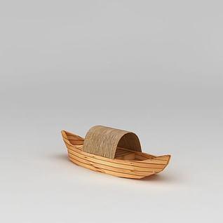 乌篷船3d模型