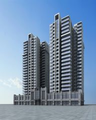 高层住宅楼模型3d模型