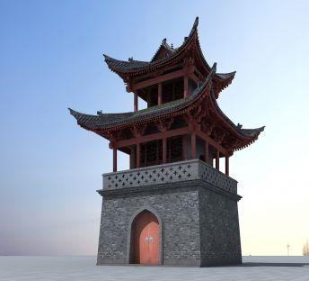 中国古建筑塔楼