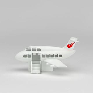 <font class='myIsRed'>儿童玩具</font>大客机3d模型