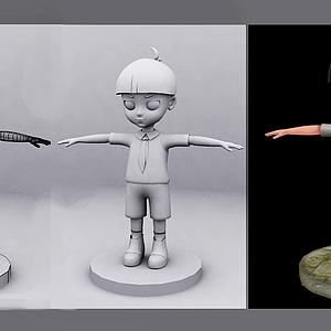 人物动画模型
