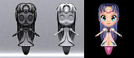小女孩人物动画模型