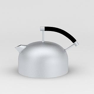 电磁炉烧水壶3d模型