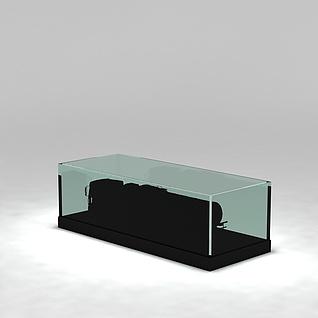 展柜3d模型