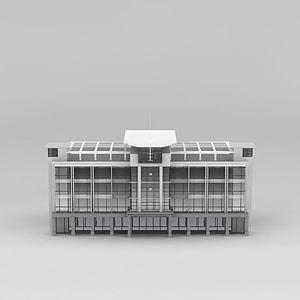 3d司法<font class='myIsRed'>大楼</font>模型
