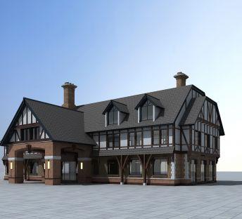 欧式民居建筑