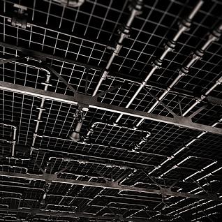 工业风格吊顶3d模型
