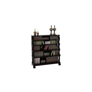 五层实木小书柜3d模型
