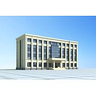 行政办公楼3D模型3d模型