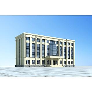 行政办公楼3d模型