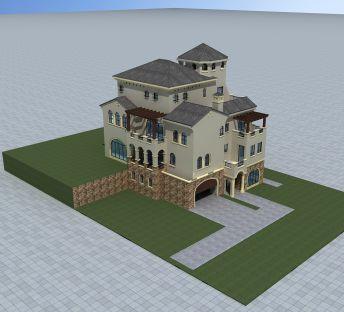现代欧式风格别墅