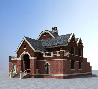 现代欧式别墅