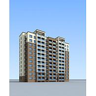现代住宅楼3D模型3d模型