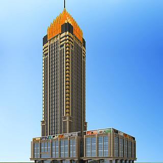 金地办公楼3d模型