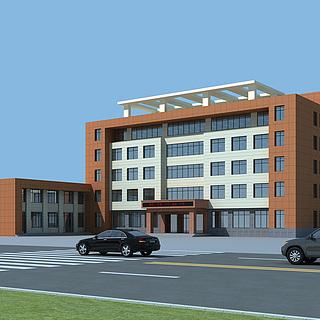 多层办公楼3d模型
