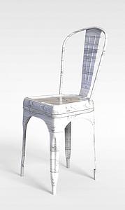 3d仿大理石花紋椅子模型