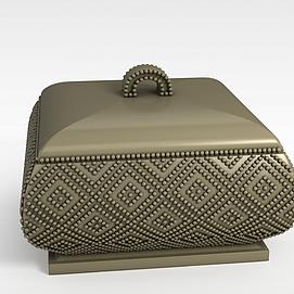 3d欧式珠宝盒模型