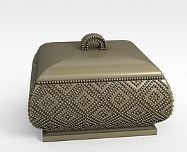 欧式珠宝盒3d模型