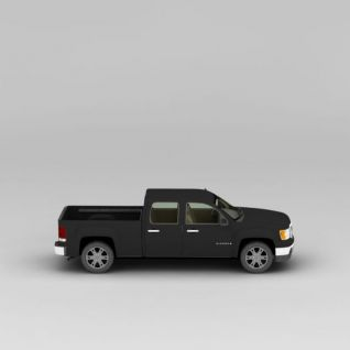 皮卡车3d模型3d模型