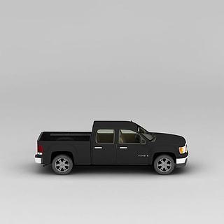 皮卡车3d模型
