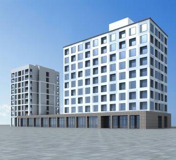 现代酒店建筑
