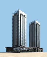 高层办公楼模型3d模型