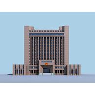 公安办公楼3D模型3d模型