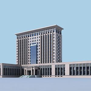 3d政府办公<font class='myIsRed'>大楼</font>模型